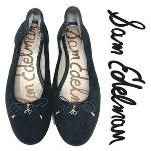 Sam Edelman Felicia Sz 11 Suede Ballet Flats Shoes